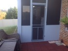 enclosed porch before & after