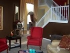 atlanta interior painting with two tone colors