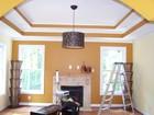 multi dimensional living room painting in Atlanta